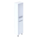 Пенал для ванной комнаты напольный белый 40 см Magellan Milardo MAG4000M97