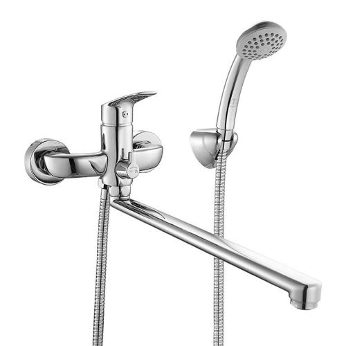 Смеситель для ванны с длинным изливом с керамическим дивертором Don Milardo DONSBLCM10