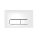 091041000 Спускная кнопка антибактериальная Nova Pro для инсталляции белая IFO