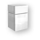Шкаф Tividens низкий боковой белый 36x59 см IFO 1432136000