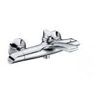 Тритон 12904 Смеситель Triton для ванны, короткий излив, ручки хром