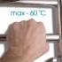 Полотенцесушитель электрический Energy H-G6 800х400 (46Вт)