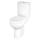 Cersanit Компакт NATURE NEW CLEAN ON 011 3/5 с крышкой дюропласт с микролифтом