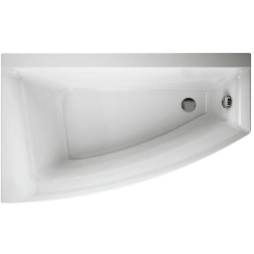 Cersanit VIRGO MAX ванна акриловая ассиметричная 160х90 левая без ножек