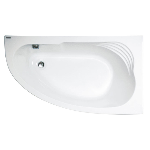 Ванна акриловая Delicia 140х80 правая Jika