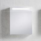 Зеркальный шкафчик Seven D белый 50x60x15 см IDO 98996-21-001