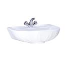 131106S0010B0 Умывальник Лотос белый, 57 см, с 1 центральным отверстием Santeri