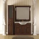 Комплект мебели Opadiris Риспекто 120 Орех Антикварный нагал или Белый Weiss или Слоновая кость