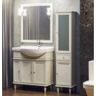Комплект мебели Opadiris Санрайз 80 правый или левый. Слоновая кость