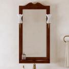 Opadiris Зеркало Тибет 50 и Светильник Рустика бронза, Изабель (51 см)