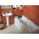 Ванна акриловая Монако XL 170х75 с гидромассажем Базовая Santek