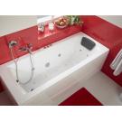 Ванна акриловая Монако XL 170х75 с гидромассажем Комфорт Плюс Santek