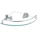 Fixsen FX-41103A Style Полка стеклянная угловая