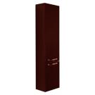 Акватон Шкаф-колонна подвесная Ария М 1244-3.103 темно-коричневая