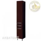 Акватон Шкаф-колонна Ария Н 1243-3.103 темно-коричневая