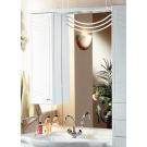 Акватон Зеркало со шкафом Домус 10-2 белое левое/правое 88 см