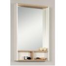 Акватон Зеркало-шкаф Йорк 55 Белый/Дуб сонома 1A173202YOAD0