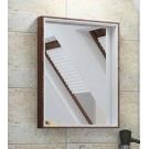 Акватон Зеркало-шкаф Фабиа 65 белый/ясень 1A159702FBAE0 с подсветкой 650х850