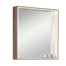 Акватон Зеркало-шкаф Фабиа 80 белый/дуб инканто 1A166902FBAF0