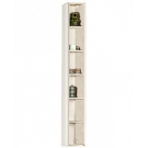 Акватон Шкаф-колонна Йорк открытая Выбеленное дерево 1A171103YOB50