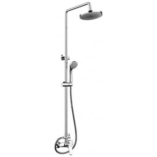 OPAL R душевая колонна со смесителем для душа (верхний душ круглой формы) Bravat 7F9125183CP-A2-RUS