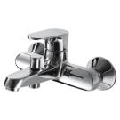 ALFA смеситель для ванны с коротким изливом Bravat F6120178CP-01