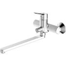 DROP cмеситель для ванны и душа с длинным изливом Bravat 7F64898C-L