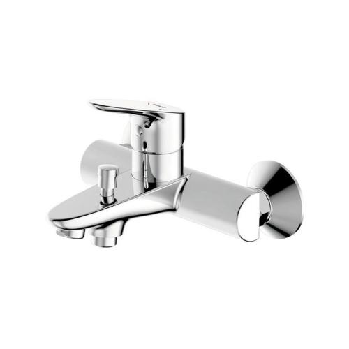 DROP cмеситель для ванны и душа с коротким изливом и душевой лейкой Bravat 7F64898C-B
