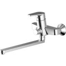 LINE cмеситель для ванны и душа с длинным изливом и душевой лейкой Bravat 7F65299C-LB