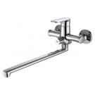 OPAL смеситель для ванны с длинным изливом Bravat F6125183CP-02L-RUS