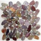 Мозаика из натурального камня Flat Red jack Bonaparte