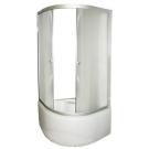 Душевой уголок FARO 8030 с высоким поддоном стекло крезет 200x90x90