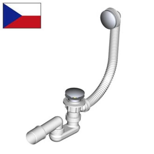 Alcaplast A-504KM Сифон для ванны клик/клак металл