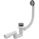 Alcaplast A-505CRM Сифон для ванны клик/клак хромированный пластик