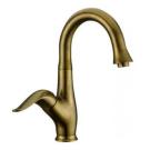 Elghansa 1605601-Bronze Смеситель для умывальника Scharme однорычажный