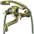 Elghansa 2312660-Bronze Смеситель для ванны короткий нос двухвентильный Praktic Bronze