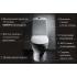 SANITA LUXE Унитаз-компакт Art Flora SL DМ двухрежимный белый (сиденье дюропласт с микролифтом / арматура Geberit)