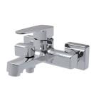 Смеситель для ванны и душа Smart Квадро SM163503AA короткий излив