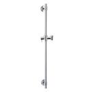 Стойка душ.с пласт V3344CR=75 см латунная без мыльницы