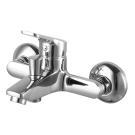 Свелто смеситель для ванны, с аксессуарами, картридж 35мм, хром Zenta Z1003_R