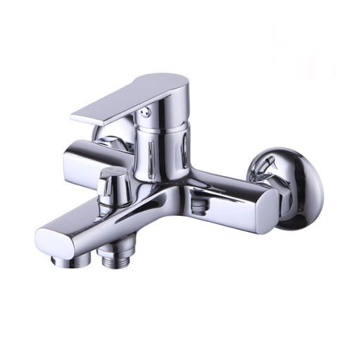 Смарт-Шот смеситель для ванны/душа, излив 120 мм, переключатель с керамическими пластинами, с аксессуарами, хром SMARTsant SM193503AA_R
