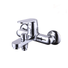 Смарт-Флай смеситель для ванны/душа, излив 120 мм, переключатель с керамическими пластинами, с аксессуарами, хром SMARTsant SM213503AA_R