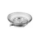 Мыльница для держателя мыла Модерн, Раунд, Софт, Меджик, прозрачное стекло SMARTsant V3552C