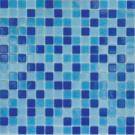 Elada Мозаика MC128 сине-голубой микс Econom