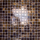 Elada Мозаика HK-18 шоколадное золото Aventurin