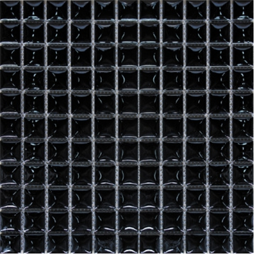 Elada Мозаика 25TG-38 черная Ceramic