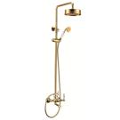 Edelform Lumier LM2910G Смеситель для ванны с душевой стойкой (Золото)