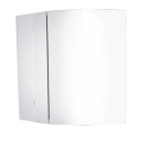 Зеркало-шкаф Лаура 60-2 белый Comforty