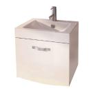 Тумба-умывальник Лаура 60-1 подвесная белый с раковиной 60Е Comforty