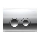 Geberit 115.125.21.1 смывная клавиша DELTA21 пластик-хром
